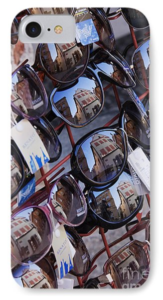 Reflections In Sunglasses Phone Case by Jeremy Woodhouse