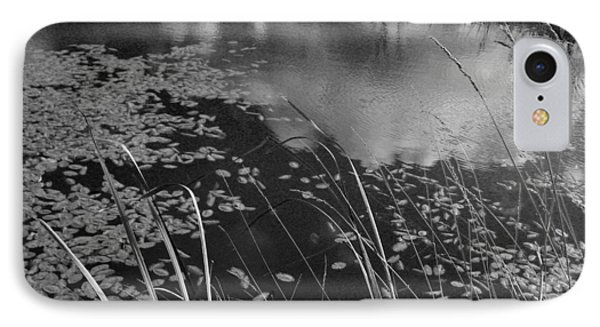 IPhone Case featuring the photograph Reflections In The Pond by Kathleen Grace