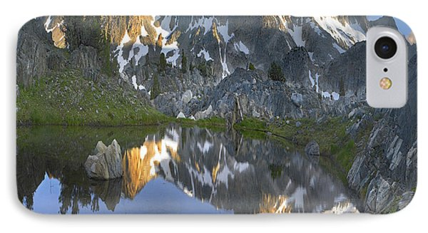 Reflections In Wasco Lake Twenty Lakes IPhone Case by Tim Fitzharris