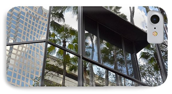 Reflections Of Tampa Phone Case by Carol  Bradley