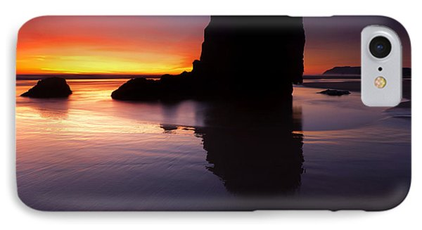 Reflections Of The Tides Phone Case by Mike  Dawson