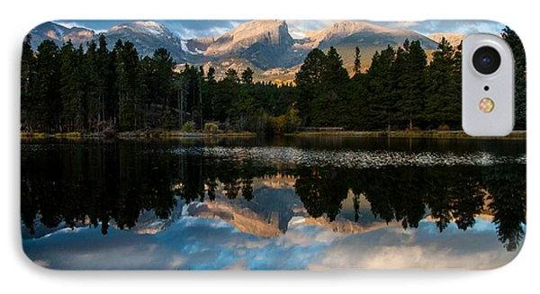 Reflections On A Lake IPhone Case by Anne Rodkin