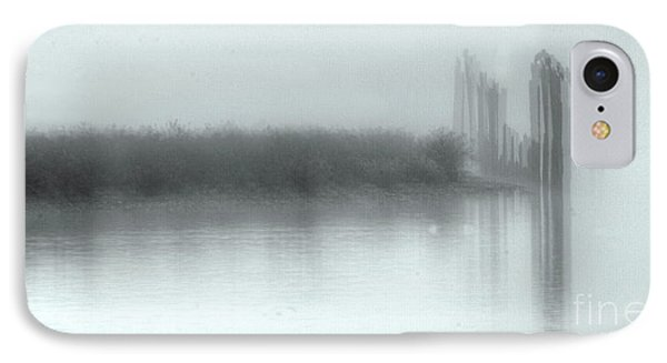 Reflections Through The Fog IPhone Case by Rod Wiens