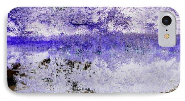 Reflective Abstracts Phone Case by Kim Galluzzo Wozniak