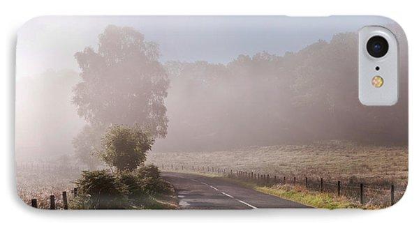 Refreshing Morning Fog In Trossachs. Scotland Phone Case by Jenny Rainbow