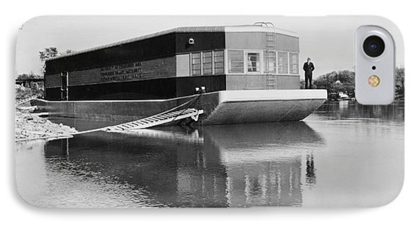 Refrigerated Barge, C1935 Phone Case by Granger