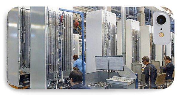 Refrigerator Factory Phone Case by Ria Novosti