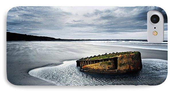 Reighton Sands Coast Phone Case by Svetlana Sewell