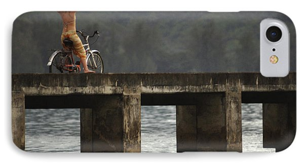 Relaxed Ride Hanalei Bay Phone Case by Bob Christopher