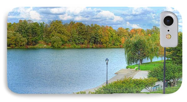 IPhone Case featuring the photograph Relaxing At Hoyt Lake by Michael Frank Jr
