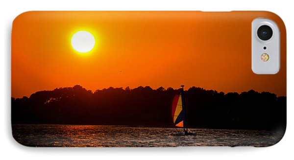 Relaxing Day On Dewey Bay Phone Case by Trish Tritz
