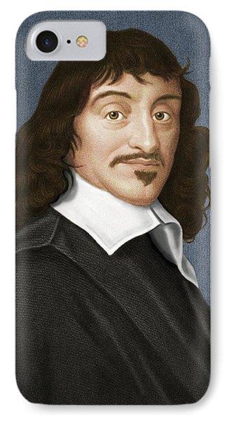 Rene Descartes, French Philosopher IPhone Case