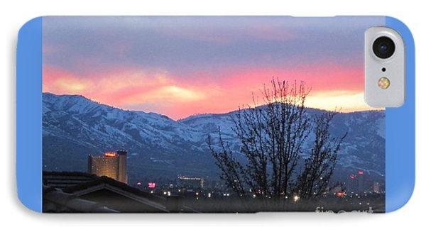 Reno At Night Phone Case by Phyllis Kaltenbach