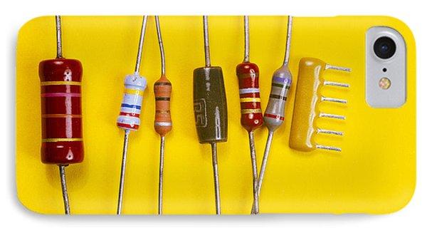 Resistors Phone Case by Andrew Lambert Photography