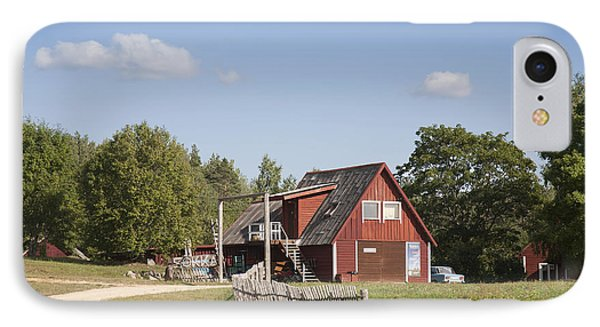 Resort Building In The Countryside Phone Case by Jaak Nilson