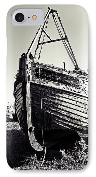 Retired Fishing Boat Phone Case by Sharon Lisa Clarke