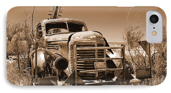 Retired Sepia Phone Case by Bob and Nancy Kendrick