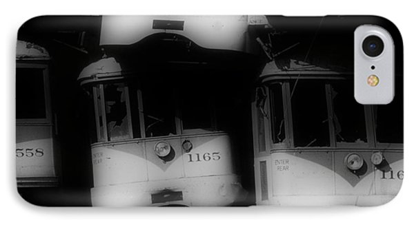 Retired Streetcars IPhone Case