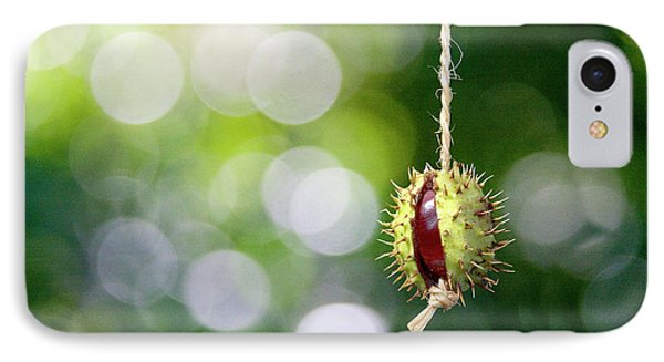 IPhone Case featuring the photograph Retro Conker  by Richard Piper
