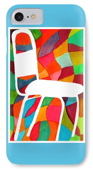 Retro Dinette Chair Phone Case by Paula Ayers