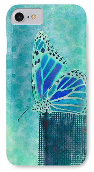 Reve De Papillon - S02a2 Phone Case by Variance Collections