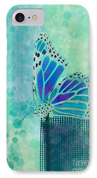 Reve De Papillon - S02b IPhone Case by Variance Collections