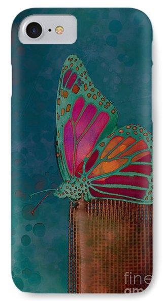 Reve De Papillon - S04bt02 Phone Case by Variance Collections
