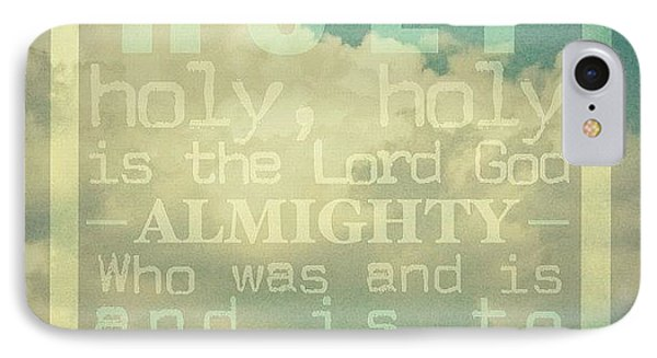Revelation Song // Phillips, Craig, & IPhone Case by Traci Beeson