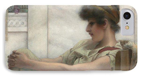 Reverie Phone Case by John William Godward