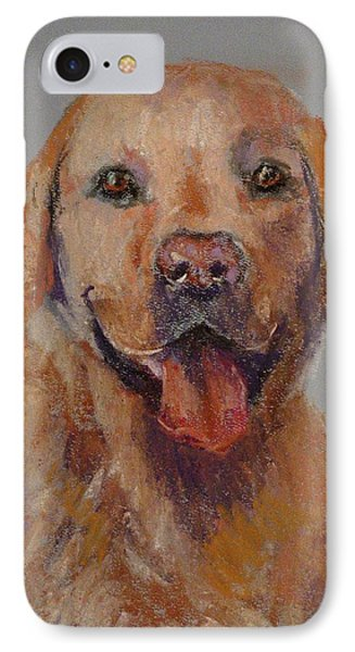 IPhone Case featuring the painting Rex  by Carol Berning