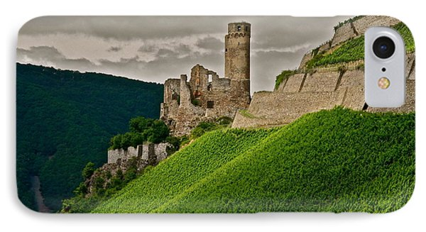 IPhone Case featuring the photograph Rhine River Medieval Castle by Kirsten Giving