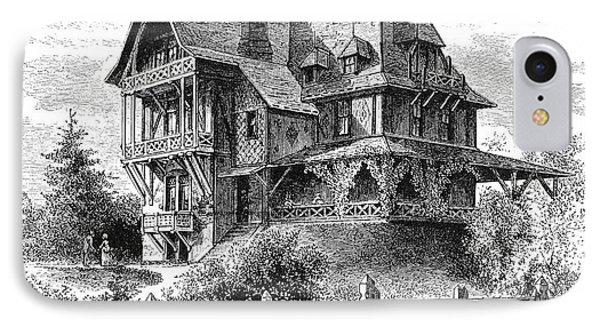 Rhode Island: Villa, 1876 Phone Case by Granger