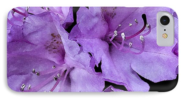 IPhone Case featuring the photograph Rhododendron II by Michael Friedman