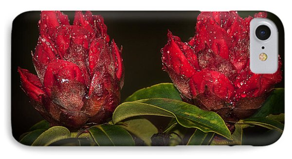 Rhododendron Phone Case by Svetlana Sewell
