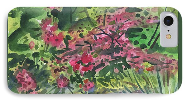 IPhone Case featuring the painting Rhododendrons And Azaleas by Donald Maier