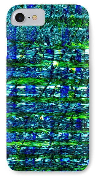 IPhone Case featuring the mixed media Rice Harvest by Terence Morrissey