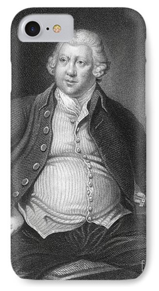 Richard Arkwright, English Industrialist Phone Case by Photo Researchers