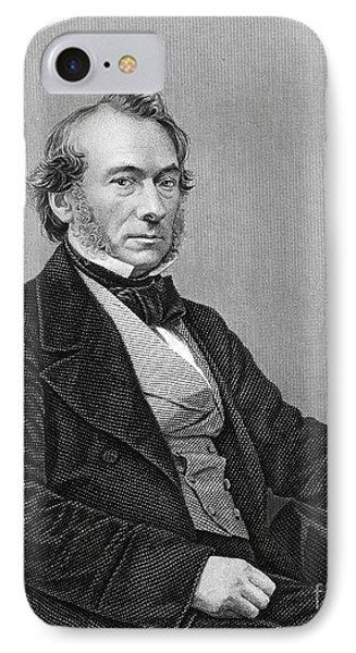 Richard Cobden (1804-1865). /nenglish Politician And Economist. Steel Engraving, English, 19th Century Phone Case by Granger
