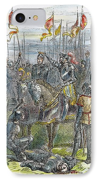 Richard IIi At Bosworth Phone Case by Granger