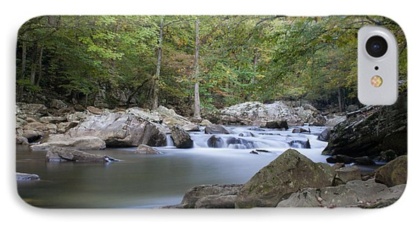 Richland Creek IPhone Case by David Troxel