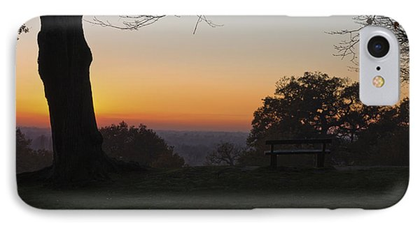 Richmond Sunset IPhone Case by Maj Seda