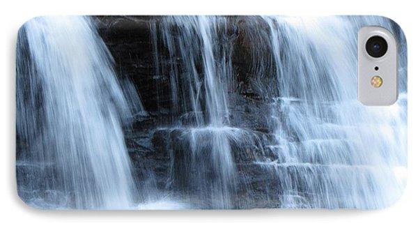 Ricketts Glen Waterfall 3942 Phone Case by David Dehner