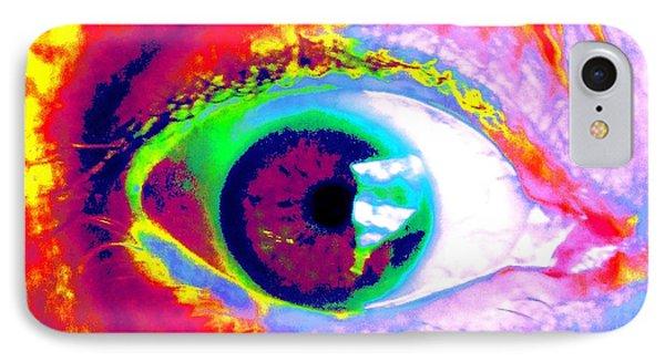 Rico's Eye Phone Case by Renate Nadi Wesley
