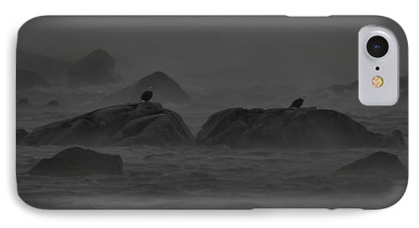 Riders On The Storm IPhone Case by William Jobes