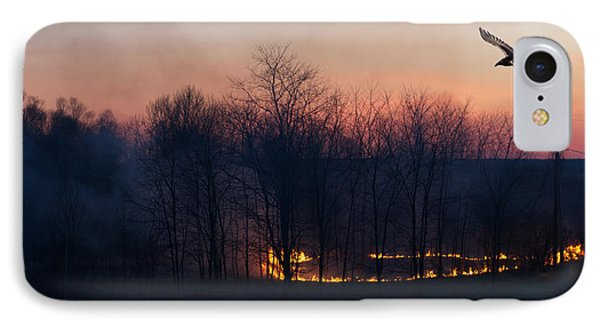 Ring Of Fire. Phone Case by Kelly Nelson