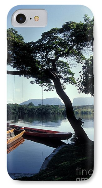 IPhone Case featuring the photograph Rio Carrao Canaima Venezuela by John  Mitchell