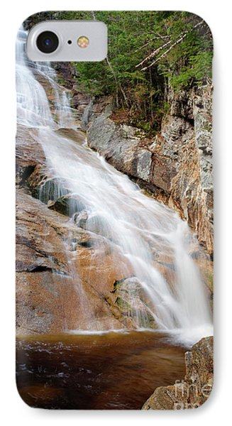 Ripley Falls - Crawford Notch State Park New Hampshire Usa Phone Case by Erin Paul Donovan