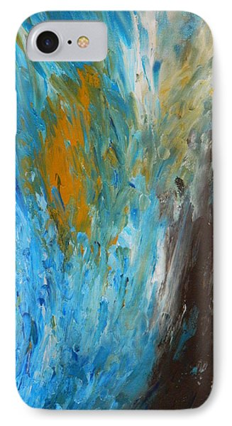 IPhone Case featuring the painting Riptide by Everette McMahan jr
