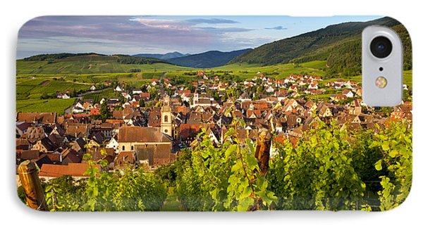 Riquewihr Alsace Phone Case by Brian Jannsen