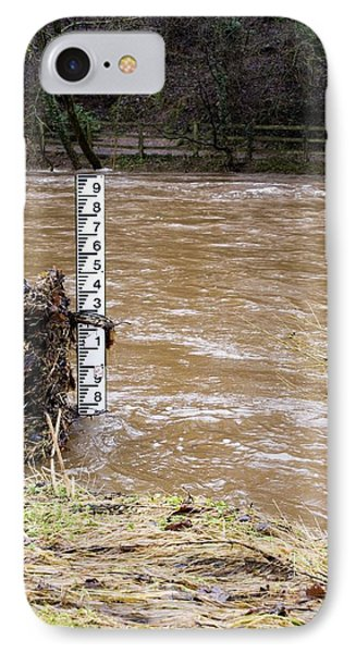 Rising River Level Phone Case by Mark Williamson